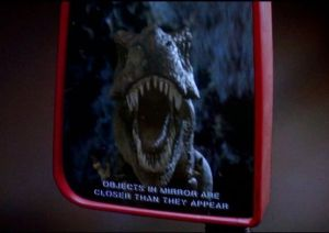 Jurassic Park mirror